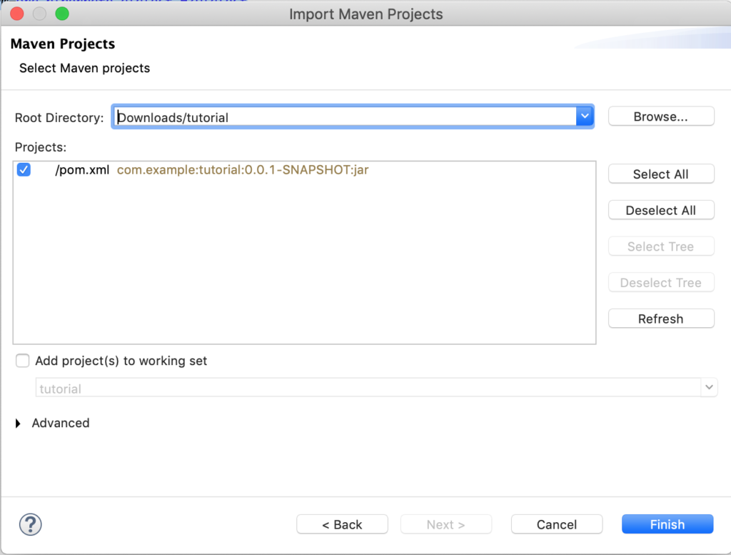 eclipse-import-existing-maven-project-step2